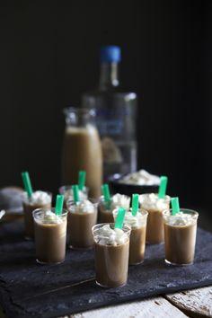 Pumpkin Spice Latte (PSL) Jello Shots // Glazed & Confused