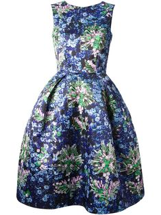 Mary Katrantzou `astere` Dress - Feathers - Farfetch.com