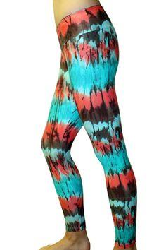 Tie-Dye  Leggings/ Yoga Pants
