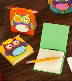 Make note! Super cute and easy DIY project - Owl themed Post-It Covers from Joann.com