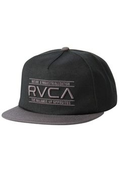 2860ee6aec3 The RVCA Nature Five Panel is a mid fit