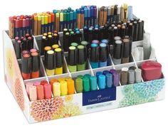 Faber-Castell Design Memory Craft Studio Caddy Premium Gift Set, Pigment Sticks with Storage for Art and Painting, 174 Piece Graf Von Faber Castell, Pitt Artist Pens, Collage Making, Polychromos, Posca, Copics, Prismacolor, Crayon, Art Supplies