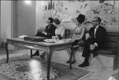 Baudouin & Fabiola with the Shah and Farah Diba
