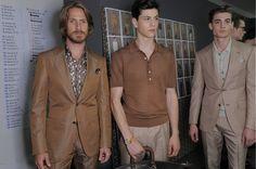 Ermenegildo Zegna Spring/Sommer 2013 - Backstage - http://olschis-world.de/  #ErmenegildoZegna #Menswear #Fashion