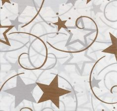 Gold Stars plastic table cover