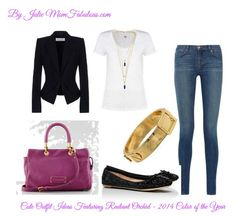 Cute Outfit Ideas of the Week featuring 2014 color of the year - radiant orchid