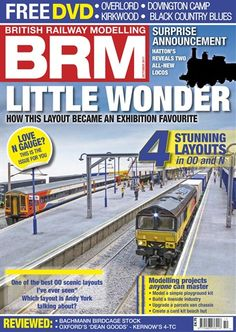 British Railway Modelling - the quality monthly model railway magazine. Established in 1993, British Railway Modelling (BRM) magazine provides exceptional coverage of the UK model railway hobby. We cover all eras and scales, giving readers quality content with superb photography. BRM is the 'go to' source for all news, events and developments in the hobby, keeping you abreast with innovations and modelling techniques. Buy subscriptions and issues of British Railway Modelling  - October 2017…