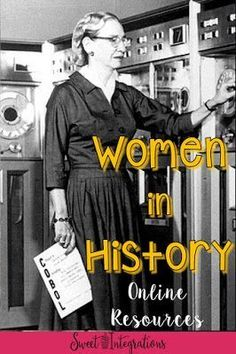 Find great online resources for your social studies research projects, but particularly for learning about women in history in the upper elementary classroom. This blog post gives you credible online sources where students can find great information - including the Library of Congress, Newsela, WhiteHouse.gov, Bio.com, and EdPuzzle. Click through to see how you can use these tools with your 2nd, 3rd, 4th, 5th, or 6th grade classroom and home school students. {second, third, fourth, fifth…