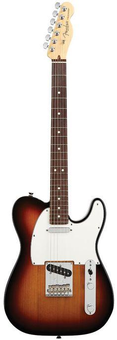 Fender American Standard Telecaster 2012 (3 Colour Sunburst, Rosewood)