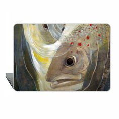Macbook Pro 13 inch 2016 vintage macbook the fish by ModMacCase