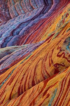 Sandstone polychrome ©Tony Kuyper. Taken in Colorado Plateau of the American Southwest