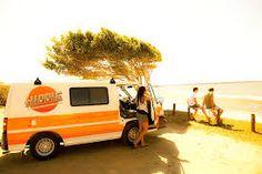 Image result for beach van