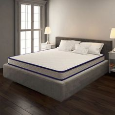 🛒Mattresses get so cheap today! Memory Foam Mattress King Size Furnish Your Dreams Euro Top Mattress, King Size Mattress, Queen Mattress, Modular Sofa Bed, Queen Memory Foam Mattress, King Size Pillows, Dream Furniture, Bed Sizes, Pressure Points