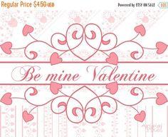 Valentine Sale 50% OFF Valentine flourish clip by ArigigiPixel