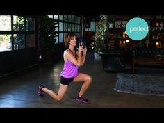@FrancenePerel: Body #Exercise #Workout 15 minute #workout using a #weighted #medicine-ball