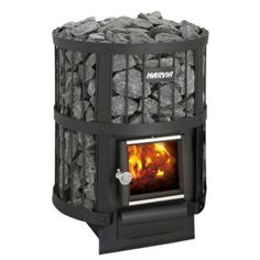 The Harvia Legend 150 sauna heater offers a comfortably humid environment for smaller saunas. The stove is a treat for the eye and for the sauna bather. Diy Sauna, Sauna Kits, Wood Burning Heaters, Sauna Accessories, Sauna Heater, Diy Heater, Traditional Saunas, Sauna Design, Design Design