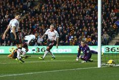 David Meyler scores Hull's second goal
