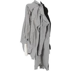 Preowned Comme Des Garcons Oversized Deconstructed Shirt, Circa 2010