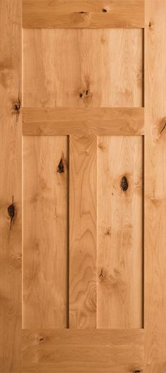 Beautify your entryway with Krosswood Doors Craftsman Knotty Alder Clear Clear Stain Wood or Dentil Shelf Right Hand Single Prehung Front Door. Craftsman Door, Craftsman Style, Knotty Alder Doors, Cities, Exterior Entry Doors, Entrance Doors, House Ideas, Wood Front Doors, Shop Front Design