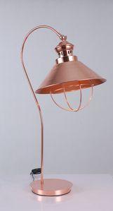 Vig Furniture Modrest Helmut Modern Copper Table Lamp
