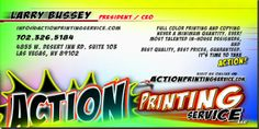 Action Printing And Copy Service