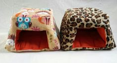 Medium cosy caves for guinea pigs or aph £12.95 www.pawsup4cosypets.co.uk