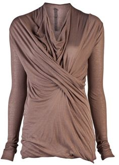 Gathered Top - Lyst