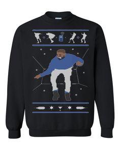 Ugly+UNISEX+christmas+sweater,+1-800-Hotline+bling+drake+inspired+sweatshirt+(black)