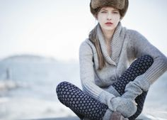Anthropologie winter  Image Via: A Well Traveled Woman