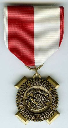 Alabama Faithful Service Medal