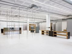 Gonzalez Haase AAS Has Transformed A Warehouse Into Tem-Plate, A Sleek New Designer Concept Store - IGNANT Roots Restaurant, Silver Color Palette, Jorge Gonzalez, Glass Partition Wall, Lisbon City, France Art, Italy Art, Exhibition Space, Florence Italy
