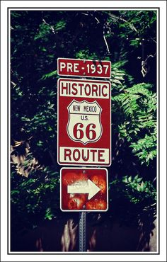 "Route New Mexico USA . I would live to rent a convertible and just drive Route 66 ."" Used this sign for art.kids cut out shape of Route 66 sign then they wrote Route 66 on top. Kinda a lot for them to write"" AF Old Route 66, Route 66 Road Trip, Historic Route 66, Travel Route, Travel Usa, Places To Travel, Places To See, Usa Roadtrip, Alaska Travel"