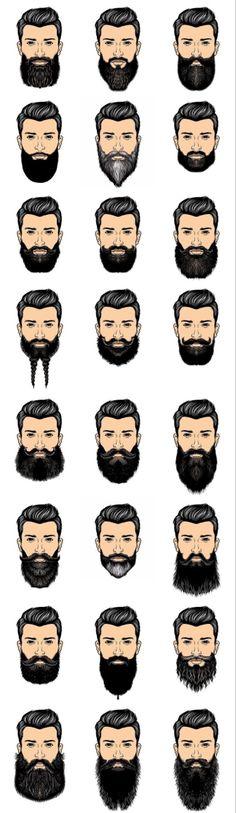 Beards And Mustaches, Long Beard Styles, Hair And Beard Styles, Hair Styles, Hipster Bart, Men Hipster, Hipster Ideas, Popular Mens Hairstyles, Hairstyles Men