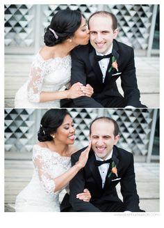 Little too much lipstick on Wayne State campus in Detroit, MI via Michigan Wedding Photographers, Silver Thumb Photography, silverthumbphoto.com, Ann Arbor michigan wedding photographer