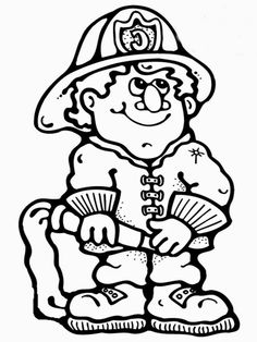 firefighterscoloringpages wwwrealisticcoloringpagescomjpg 768