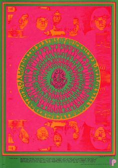 Quicksilver Messenger Service at Avalon Ballroom 3/22-23/67 by Victor Moscoso & Fred Roth