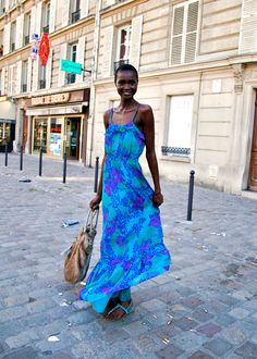 BONAE L'AMOUR | bonaelamour.com - Ataui Deng (in) Model's Street Style After Haider...
