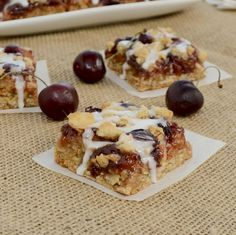 Sweet Pea's Kitchen » Chewy Cherry Almond Bars