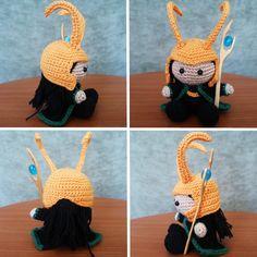 Amigurumi Loki                                                                                                                                                      Más