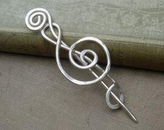 Celtic anelli e spirali Pin scialle sciarpa di nicholasandfelice