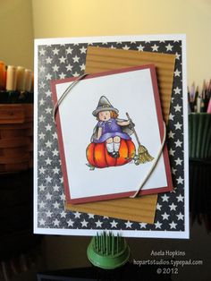 Witchy by aselahop - Cards and Paper Crafts at Splitcoaststampers