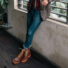 Austinite Tavern Boots from Lanona Shoe Co- exclusively available at Weathered Coalition