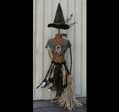 Halloween Witch Mannequin Dress Form PDF by Hudsonsholidays
