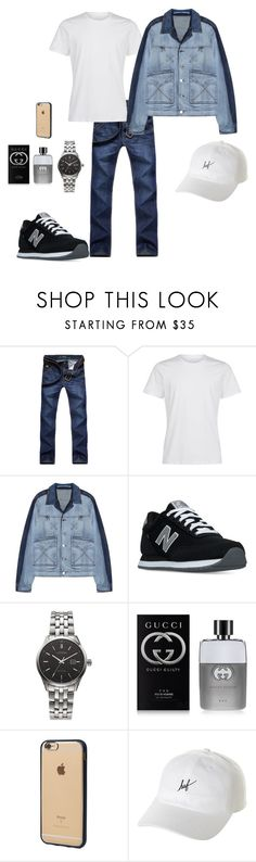 """""""Boys #8"""" by rodmolly on Polyvore featuring Kenzo, New Balance, Citizen, Gucci, Incase, HUF, men's fashion and menswear"""