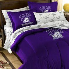 TCU Horned Frogs Bedding Sets