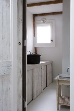 Leuke steigerhouten kastdeur home pinterest photos - Moderne wasruimte ...