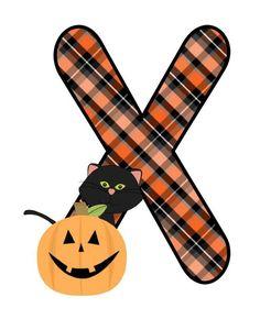 Halloween Letters, Halloween Ii, Halloween Clipart, Holidays Halloween, Halloween Pumpkins, Halloween Crafts, Happy Halloween, Halloween Ideas, Witch Coloring Pages