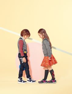 The Fendi Kids FW15 campaign