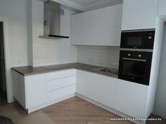 Modern Kitchen Design, Sweet Home, Kitchen Cabinets, Kitchen Ideas, Studio, Home Decor, Kitchens, Houses, Decoration Home