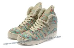 Girl Adidas M Attitude Big Tongue Monogram Shoes Green Outlet